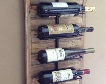 Wall Wine Rack for Reds