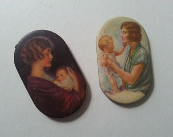 Two Prudential Insurance Advertising Pin Cushions.- Excellent Condition