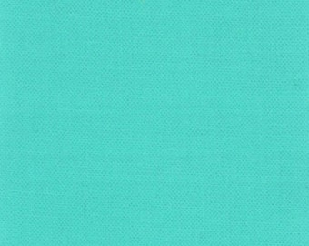 Prairie Fabric Bella by MODA Solid Bermuda Aqua Blue