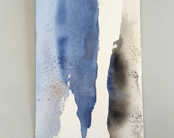 """Original Abstract Painting """"Dichotomy II"""" Contemporary Art by LEACH"""