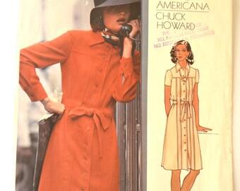 Vogue Americana 2934 Chuck Howard Misses Dress Size 12 UNCUT