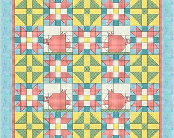 When pigs fly quilt pattern BL 119