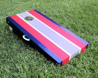 4 Color ACA Cornhole Set Custom Colors with Bags