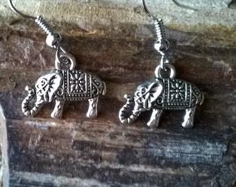 Elephant Earrings,Tribal Earrings