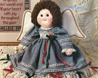 Sewing PATTERN - Soft Sculpture Cloth doll and Clothing - PDF download