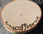 Coffee Mug Coaster Rustic Birch Wonderful Gift