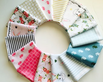 SALE.... Wonderland fabric Full collection bundle from Melissa Mortenson and Riley Blake fabrics 15 total, You Choose Cut