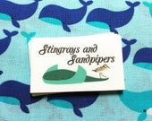 Fabric Sew-on or Iron-on Labels, Custom Printed - Brand your items with your logo! (LuckyLu Labels)