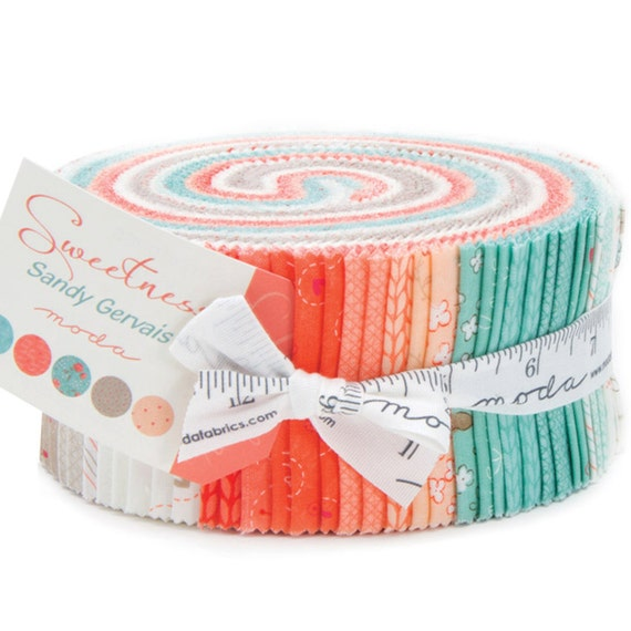 Sweetness Jelly Roll By Sandy Gervais For Moda Fabrics 17850jr