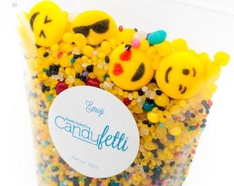 Emoji 1lb. Candyfetti™ Candy Confetti Sprinkles