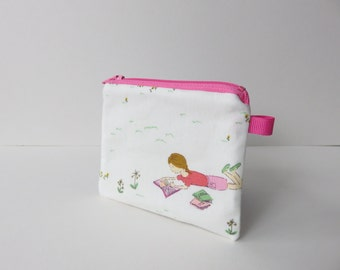 zippered coin purse