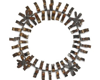 Metal Wreath Indoor or Outdoor Holiday Wreath