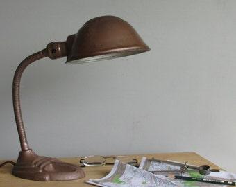 vintage desk Lamp - Rodale - industrial/retro decor