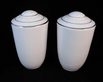 "Noritake ""Stoneleigh"" Salt And Pepper Shaker Set"