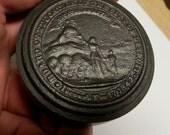 resered for 1pumpkincake antique board of education of Detroit Michigan public schools door knob original