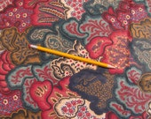 """Fabric - Waverly Screen Print Cotton - 56"""" W by 2 Yards plus 32"""" - Upholstery Weight Textile Art Supply - Sewing - Pillows - Totes - Etc."""