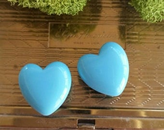 0g Blue Heart Plugs