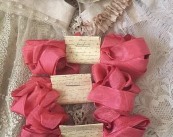 Seam binding ribbon 4 metres vintage style ribbon rayon seam binding ribbon by olive grove primitives