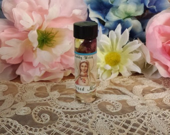 Blessed Mary Oil, Virgin Mary, Goddess Mary, Goddess Oil