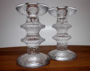 Iittala Festivo Candle Holder Pair - 2 ring