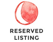 Reserved Listing for LaDawn