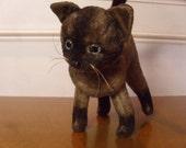 Vintage 1960's  Kamar Stuffed Kitty Cat