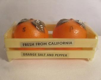 Vintage 1960's/1970's  Salt & Pepper Shakers  Deadstock