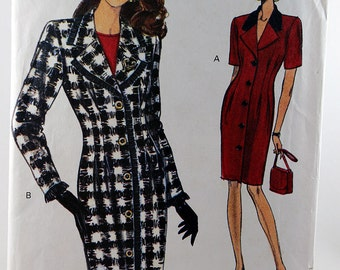 Vogue 8508, Misses' Dress and Top Pattern, Very Easy/Very Vogue, Sewing Pattern, Size 12, 14, 16,  Uncut