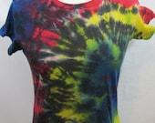 Tie dye T-shirt Size Large Rainbow Burst