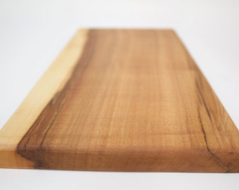 Sugar Maple Cutting Serving Board - OOAK - Sustainable Harvest -  Timber Green Woods