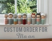 Custom kokeshi for Ma-an