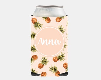 Bachelorette Party Favors Can Coolers Bridesmaid Gift Ideas Pink Pineapple Wedding Favors Wedding Party Favors Adult Can Hugger Z