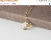 Sea Necklace,Cute Fish,The Ocean,Drop Necklace,Gold Necklace,Layering Necklace,Delicate Jewelry,Dainty Necklace