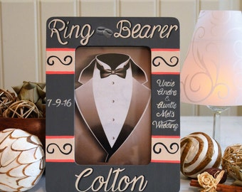 Ring Bearer Gift, Frame, Personalized
