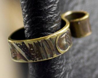 Ear cuff, Vera's Medieval Collection, small earring, ear cuff, handmade cuff, friendship ear cuff, trendy ear cuffs, ear wrap, great gift