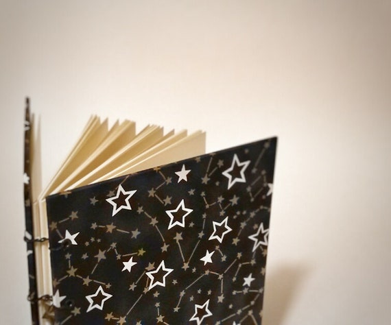 constellation dream coptic bound writing journal - dream journal - dream notebook - star journal - cute drawing sketchbook - zodiac journal
