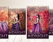 "Four Book Series Premade Digital eBook Book Cover Design Trilogy ""Midnight Series"" Young New Adult YA Girl Vampire Paranormal Teen Romance"