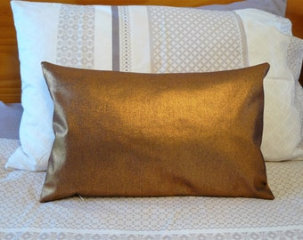 Pillow Cushion - Copper lumbar decorative