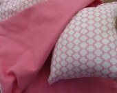 18 Inch Doll Bedding, pink sleeping bag for 18 inch doll