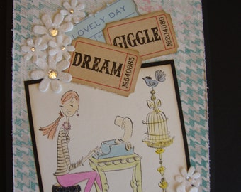Dream and Giggle CARD