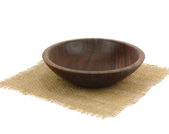 Small Walnut Bowl, Candy Dish, Snack Bowl