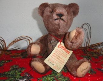 Collectible Bear Plush Collectible Toy Collectible Teddy Bear Collectible Plush Toy Althans Bear Plush Bear