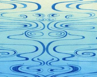 Luminaria Water Ombre - Julie Paschkis - In the Beginning - Half Yard