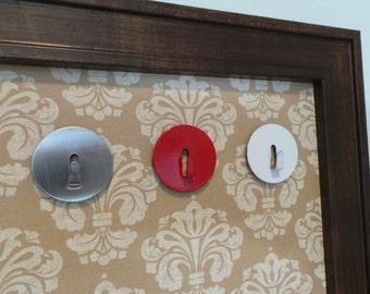 Magnet Board Accessory - Magnetic Hook - Key Hook - Magnet - Jewelry Hook - Dog Leash Hook - Magnetic Memo Board Accessory