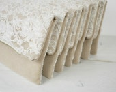 7 ivory lace clutches RESERVED
