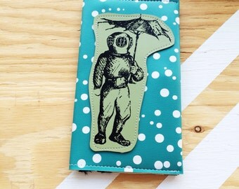 Deep Sea Diver Travel Wallet