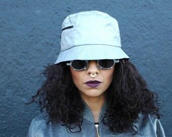 90s Silver Bucker Hat