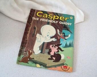 1960s Casper the Friendly Ghost Wonder Book Harvey Cartoon Studios 1960
