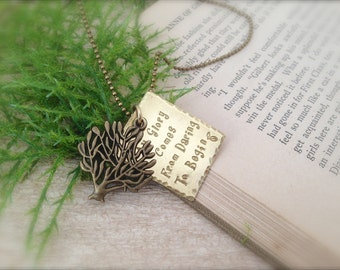 Tree of Life Dare to Begin Necklace SALE!