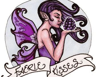 Faerie Kisses handmade fantasy soap